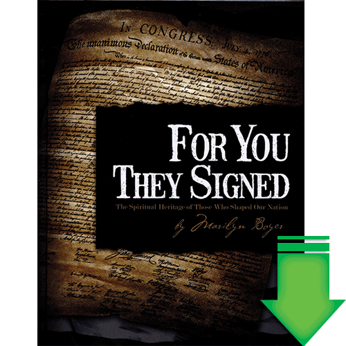 For You They Signed eBook (EPUB, MOBI)