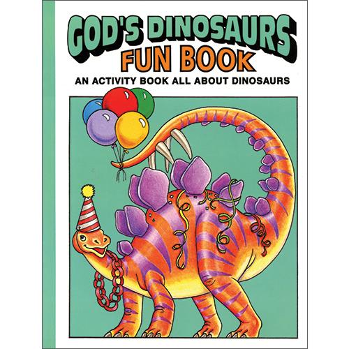 God's Dinosaurs Fun Book