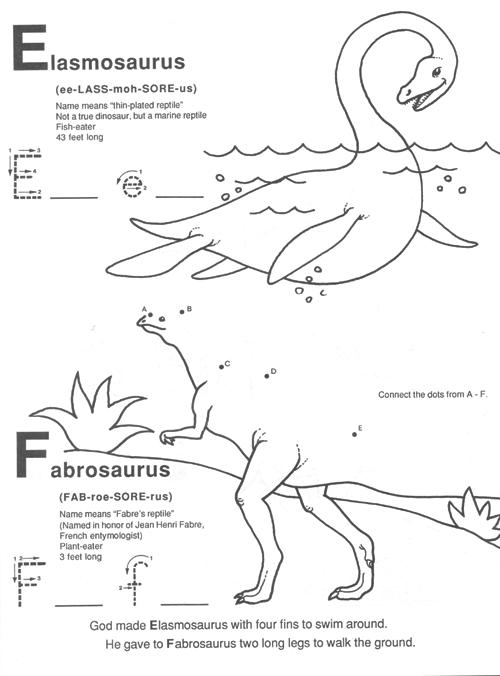 God's Dinosaurs A B C Book