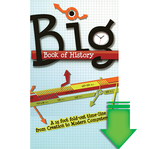 Big Book of History eBook (Pdf Download)  by Answers in Genesis