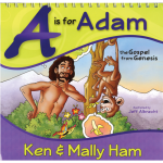 A is for Adam (Illustrated Flipbook)
