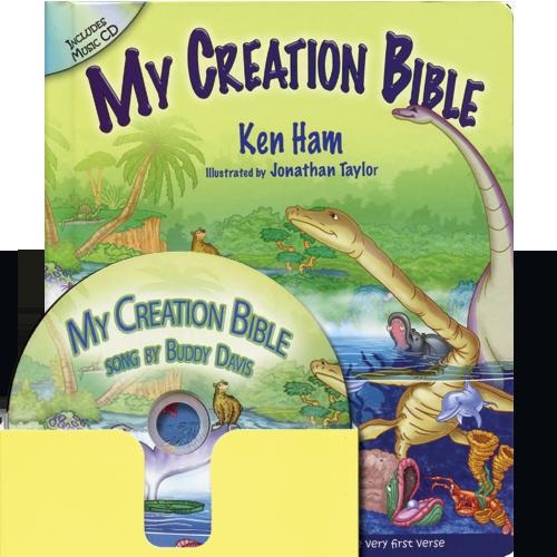My Creation Bible (w/music CD)