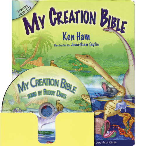 My Creation Bible (w/music CD)