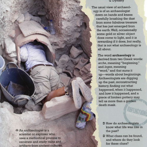 The Archaeology Book eBook (PDF)