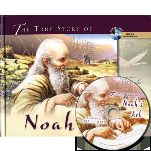 The True Story of Noah's Ark (w/audio CD)