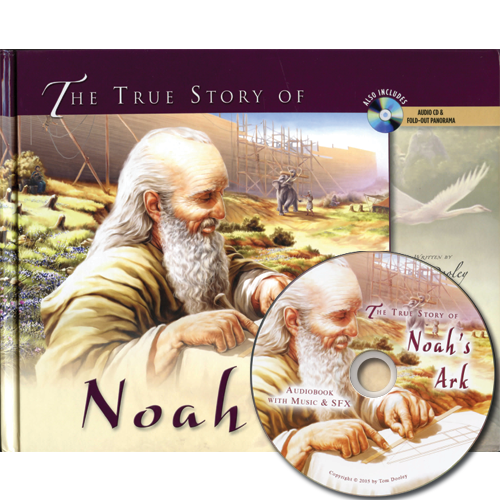 The True Story of Noah's Ark (w/audio CD)
