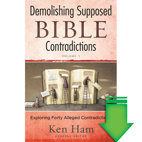 Demolishing Supposed Bible Contradictions (Vol 1) eBook  (EPUB, MOBI, PDF)