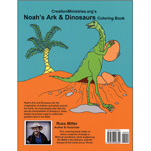 Noahs Ark Dinosaurs Coloring Book
