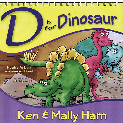 D is for Dinosaur (Illustrated Flipbook)