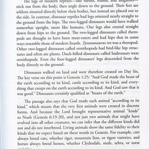 Brian Thomas' Dinosaurs and the Bible