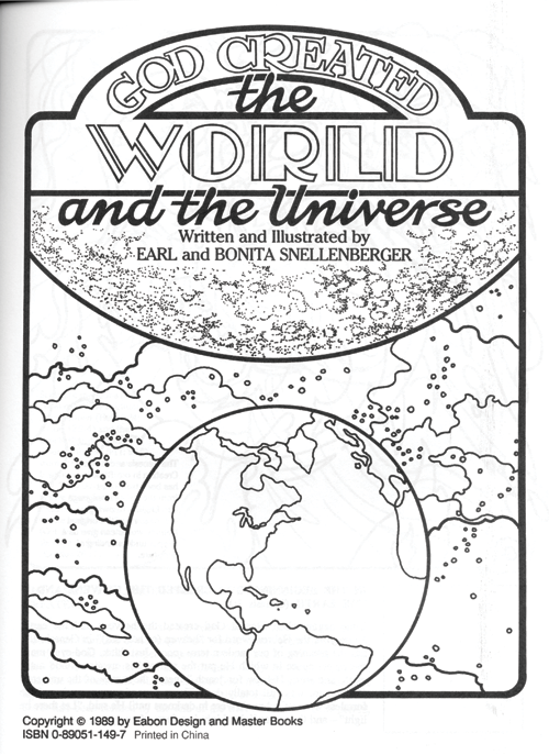 god created the world coloring page - free coloring pages of god created the world