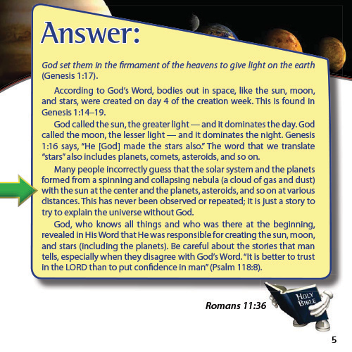 The Answers Book for Kids Volume 5