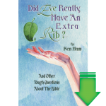 Did Eve Really Have an Extra Rib? eBook (EPUB, MOBI)