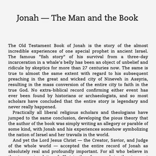The Remarkable Journey of Jonah eBook (EPUB, MOBI)