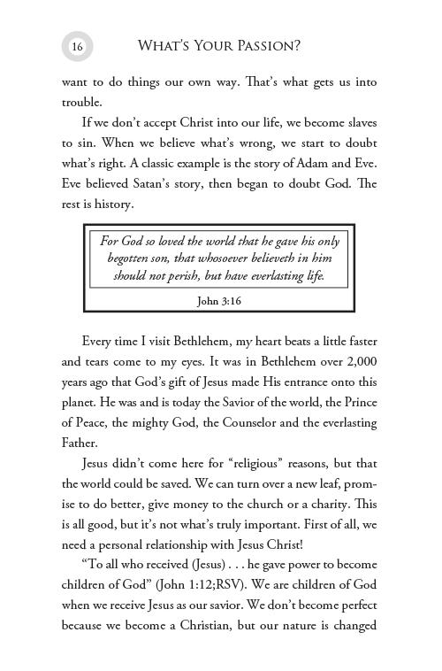 What's Your Passion? eBook (EPUB, MOBI, PDF)