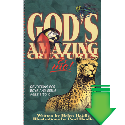 God's Amazing Creatures and Me eBook (EPUB, MOBI, PDF)