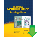 Concepts of Earth Science and Chemistry (Parent Lesson Planner) eBook (EPUB, MOBI, PDF)