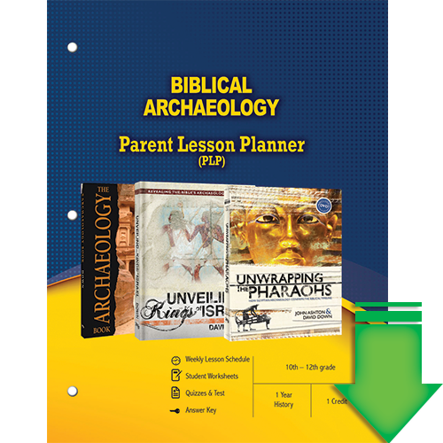Biblical Archaeology (Parent Lesson Planner) eBook (PDF)