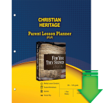 Christian Heritage (Parent Lesson Planner) eBook (PDF)