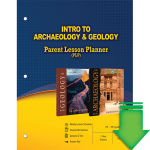 Intro to Archaeology and Geology (Parent Lesson Planner) eBook (PDF)