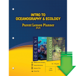 Intro to Oceanography and Ecology (Parent Lesson Planner) eBook (PDF)
