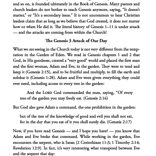 Six Days The Age of the Earth and the Decline of the Church eBook (EPUB, MOBI, PDF)