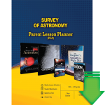 Survey of Astronomy (Parent Lesson Planner) eBook (PDF)