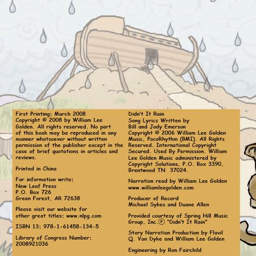 Noah, Didn't It Rain? eBook (PDF)