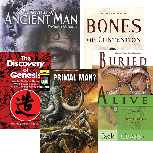 Ancient Man Book Package