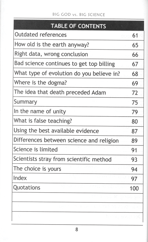Big God vs. Big Science
