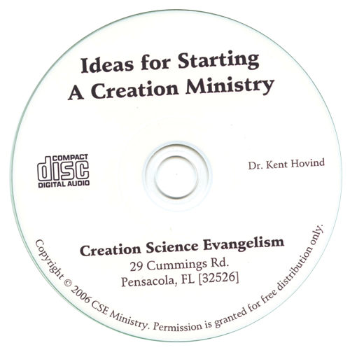 Ideas for Starting a Creation Ministry