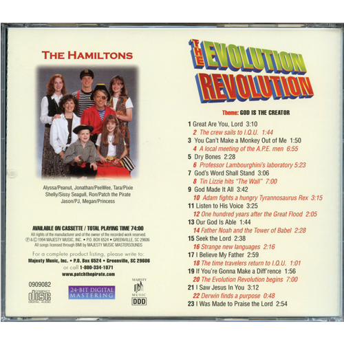 Evolution Revolution (by Patch the Pirate) on CD