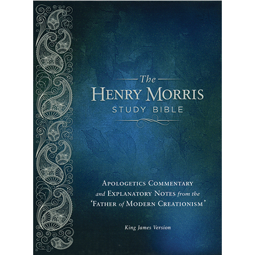 The Henry Morris Study Bible (Black Leather)