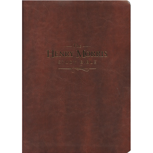 The Henry Morris Study Bible (Brown Soft Leather)