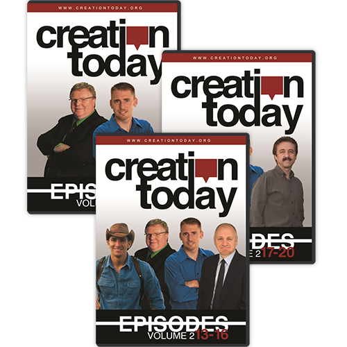 The Creation Today Show: Vol 2, Episodes 13-24 (3 Disc Set)