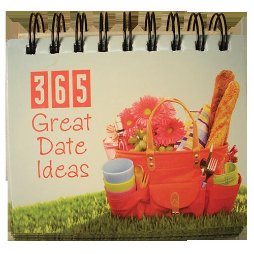 365 Great Date Ideas Calendar