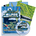 Preparing to Soar:  Dino Super Airplane