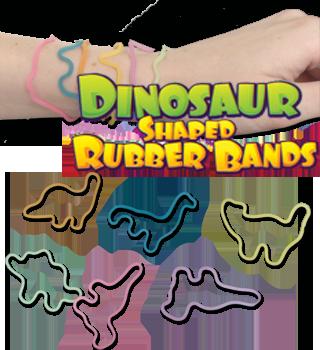 Dinosaur Silly Band Bracelet