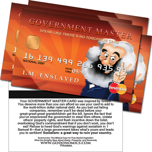 Government Master Card (5 pack)