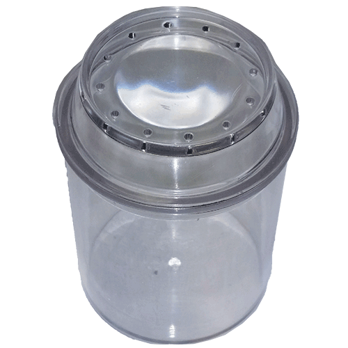Bug Container with Magnification