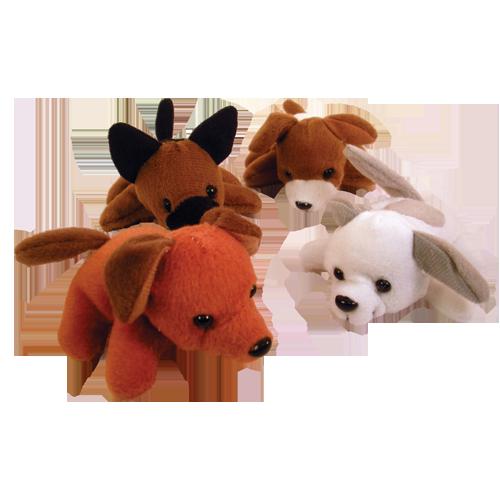 Mini Bean Bag Dogs