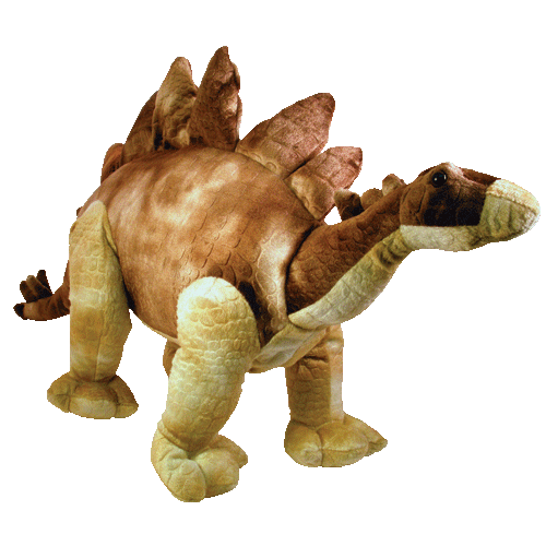 The Big Plush Stegosaurus 22""