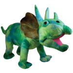 The Big Plush Triceratops 22""