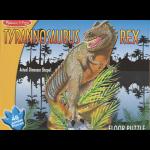 T Rex Floor Puzzle 2' x 3'