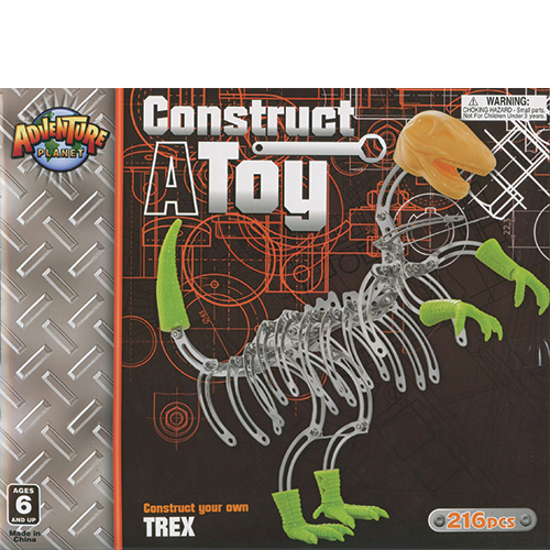 Construct A Toy: TRex