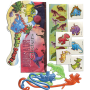 50 Pc Dinosaur Assorted Novelties