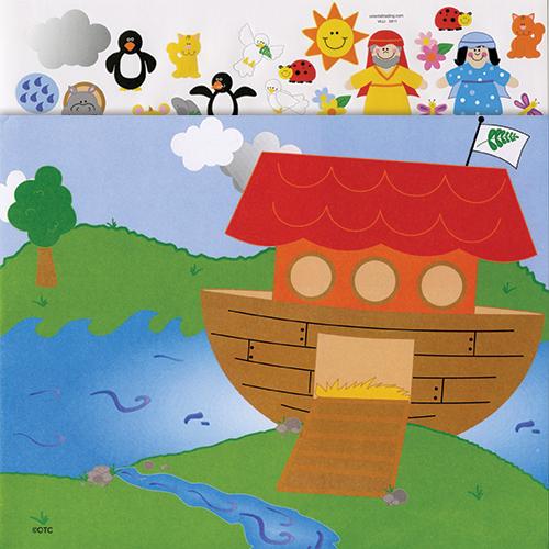 Make a Noah's Ark Sticker Scenes