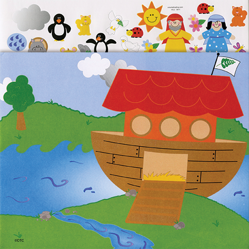 Make a Noah's Ark Sticker Scenes