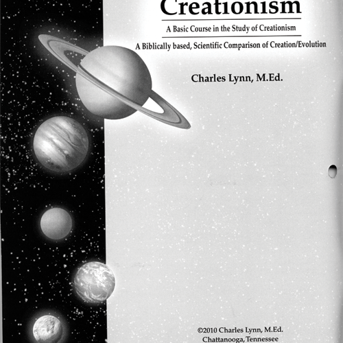 Creationism Student Workbook