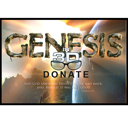 Genesis 3D Movie Donation